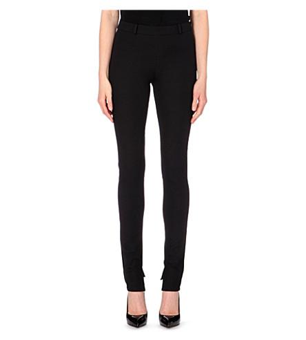 ROLAND MOURET Mortimer skinny stretch-crepe pants (Black