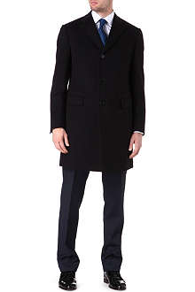 CORNELIANI Fully lined wool-cashmere coat
