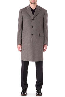 CORNELIANI Long cashmere coat