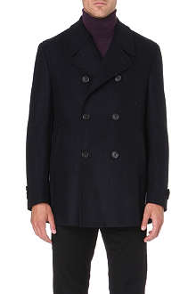 CORNELIANI Wool peacoat