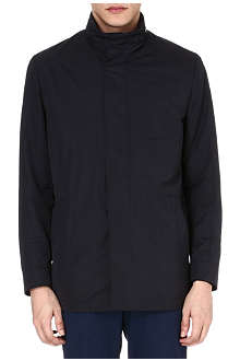 CORNELIANI Funnel-neck jacket