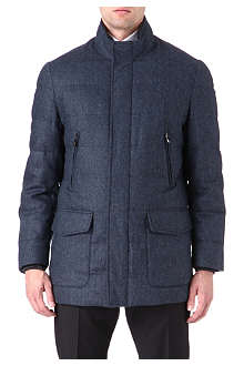 CORNELIANI Cashmere-blend quilted jacket