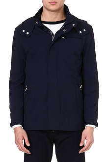 CORNELIANI Detachable hood jacket