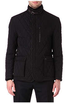 CORNELIANI Quilted patch pocket jacket