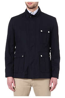 CORNELIANI Three-pocket cotton jacket