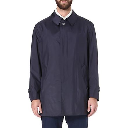 CORNELIANI Silk raincoat (Navy