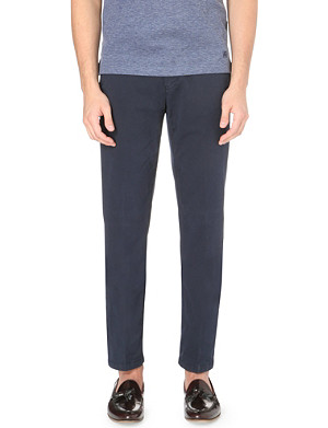 CORNELIANI Slim-fit stretch-cotton chinos