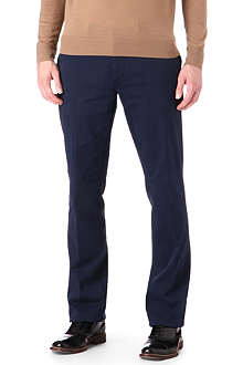 CORNELIANI Stretch-cotton trousers