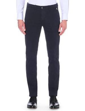 CORNELIANI Slim-fit stretch-cotton chinos