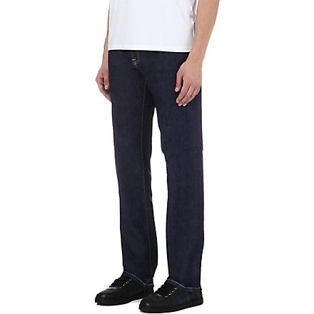 CORNELIANI Regular-fit straight jeans (Blue
