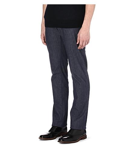 CORNELIANI Regular-fit straight jeans (Blue