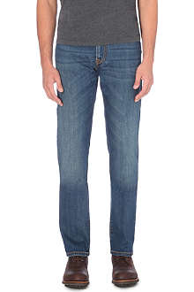CORNELIANI Greencast slim-fit mid-rise jeans
