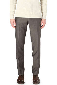 CORNELIANI Wool and linen trousers
