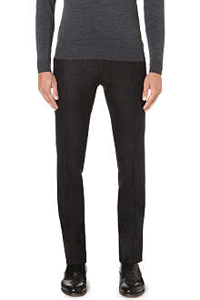 CORNELIANI Slim-fit wool trousers