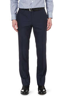 CORNELIANI Straight-leg wool trousers