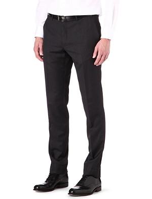 CORNELIANI Regular-fit tapered wool trousers