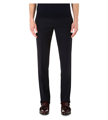 CORNELIANI Wool trousers (Navy