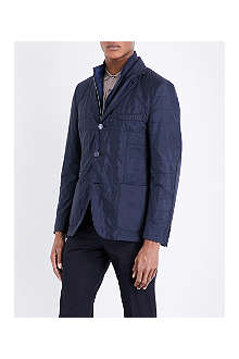 CORNELIANI Quilted removable-insert jacket