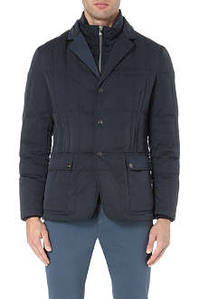 CORNELIANI Quilted waterproof jacket