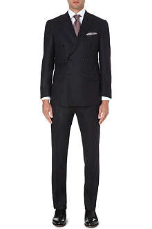 CORNELIANI Double-breasted slim-fit suit