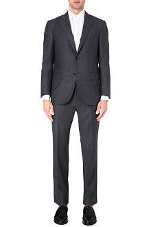 CORNELIANI Pindot slim-fit wool suit