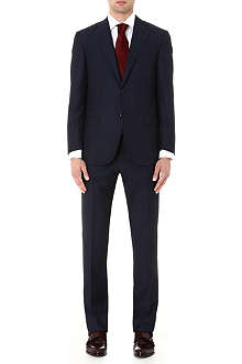 CORNELIANI Herringbone wool suit
