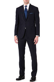 CORNELIANI Birdseye notch lapel single-breasted suit