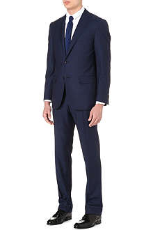 CORNELIANI Striped wool suit