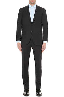 CORNELIANI Single-breasted tapered wool suit