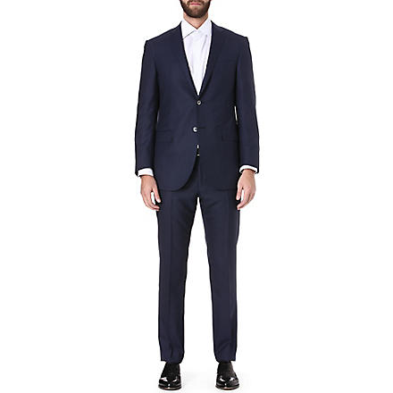 CORNELIANI Wool-blend suit (Navy