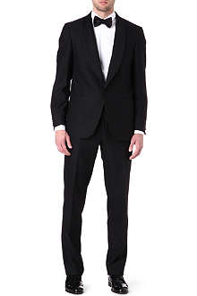 CORNELIANI Evening shawl satin suit
