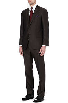 CORNELIANI Wool and silk-blend suit