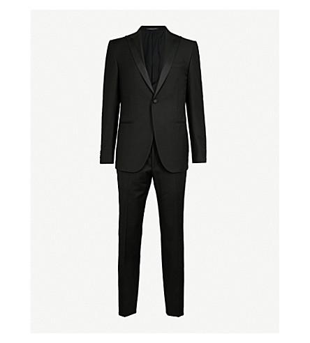 CORNELIANI Super 120's virgin wool tuxedo (Black