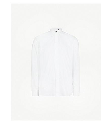 CORNELIANI Tailored-fit cotton shirt (White