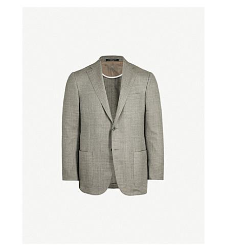 CORNELIANI Regular-fit cashmere-blend jacket (Beige