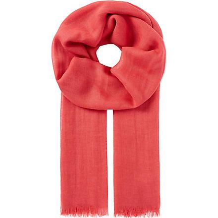 CORNELIANI Cashmere-blend scarf (Multi