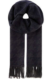 CORNELIANI Wool and cashmere blend scarf