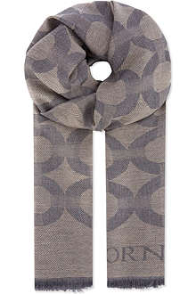 CORNELIANI Mantova rings scarf