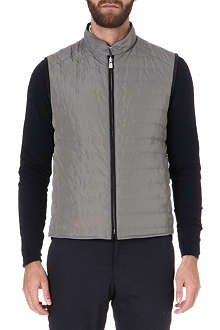 CORNELIANI Reversible quilted gilet