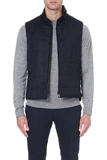 CORNELIANI Quilted wool gilet