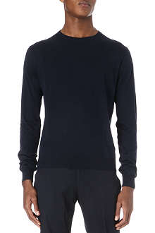 CORNELIANI Silk and cotton jumper