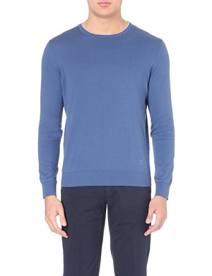 CORNELIANI Knitted crew-neck jumper