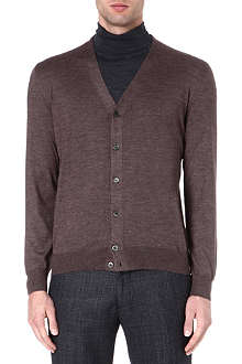 CORNELIANI Cashmere and silk-blend cardigan