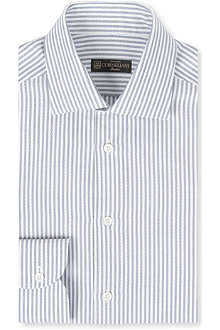 CORNELIANI Oxford stripe single-cuff shirt