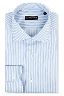 CORNELIANI Regular fit multi-stripe shirt