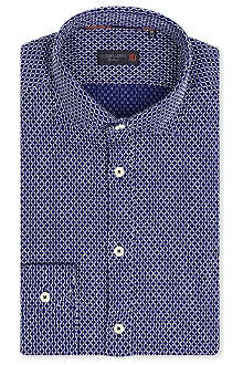 CORNELIANI Woven links shirt