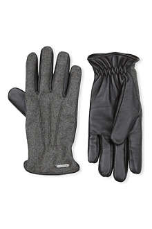 CORNELIANI Classic stud gloves