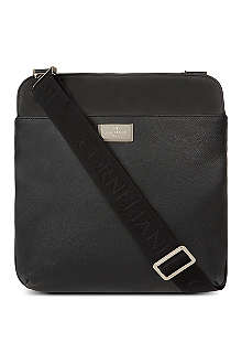 CORNELIANI Leather pouch bag
