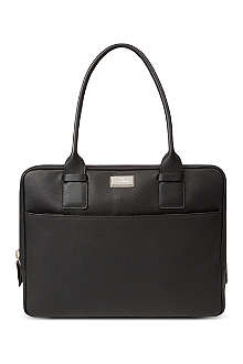 CORNELIANI Soft leather briefcase