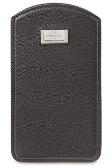 CORNELIANI Grained iPhone case